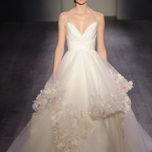 Hayley Paige Occasions Dresses - Hayley Paige Wedding Gown, floor sample, 6601